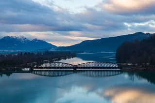 Train bridge over the Drau | by Photo-Sorko