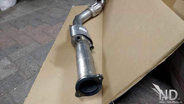 "BSR 3"" Downpipe with Sports Catalyst"