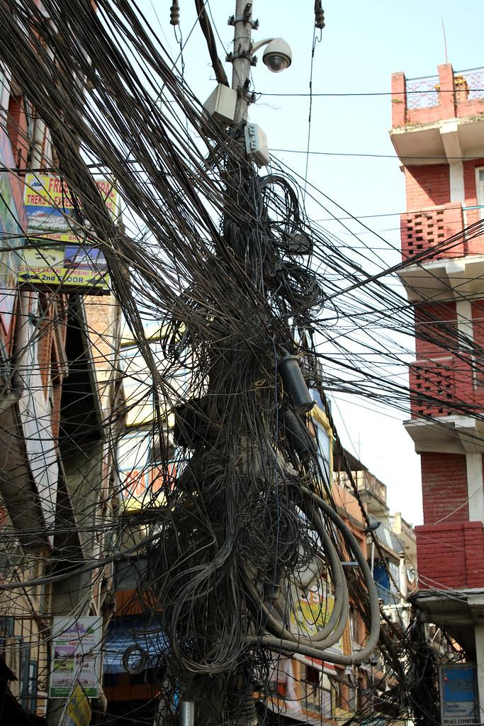 Wiring Nightmare In Kathmandu Nepal