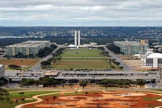 Aerial View - Brasilia, Brazil