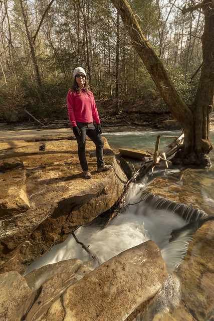 Leanne Lipps, Hydroclastic Conduit entrance, White County, Tennessee