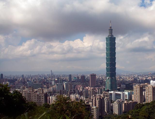 Taipei Cityscape with 'Taipei 101'