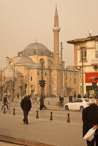 excellent city view turkey türkiye konya december 2011 зима утро мечеть город уличнаяфотография nikond60 180550mmf3556 жж super shot interesting angle lovely photo superbe пробуждение