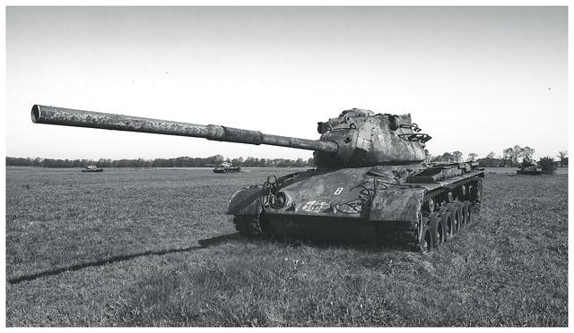Abandoned M-47