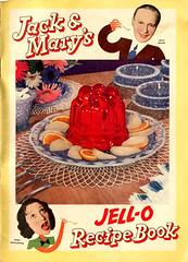 Jack & Mary's JELL-O Recipe Book - cover