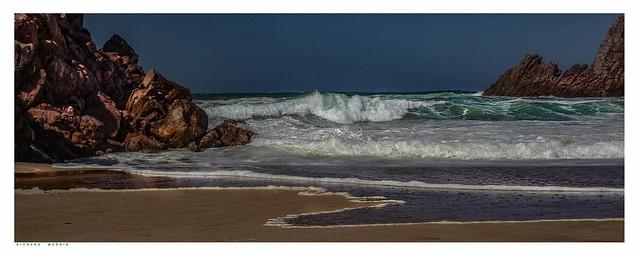 The Atlantic Ocean at Mirleft-ميرلفت-, Morocco, 2.2019.