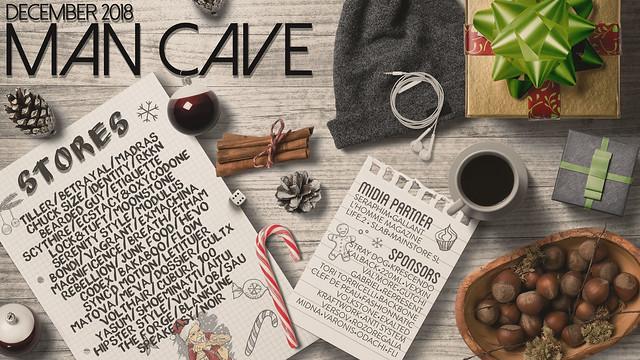 Man Cave December Line Up
