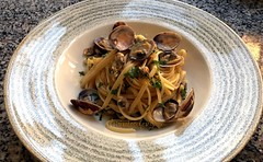 Linguine alle vongole-  Linguine with clams