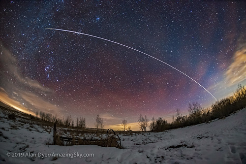 The ISS, Airglow, and Zodiacal Light