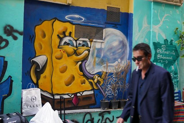 Street Art + Man