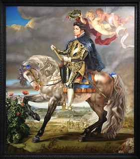 Equestrian portrait of the King Philip II (Michael Jackson), 2010, Kehinde Wiley