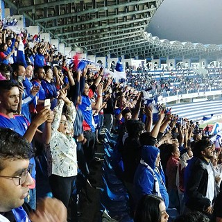 I've heard so many good things about supporters of the rising BFC that it was time for a reality check. And it's true, the West Block Blues are awesome and true supporters! All time chanting, drums, flags, pushing their team to score even in a pretty tedi | by Scalino