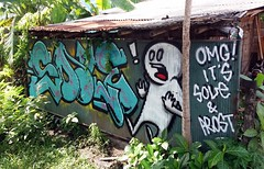 Graffiti Art in Bali, Sole Prost  20181221_095023