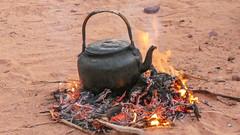 Bedouin tea ceremony in the Wadi Rum desert
