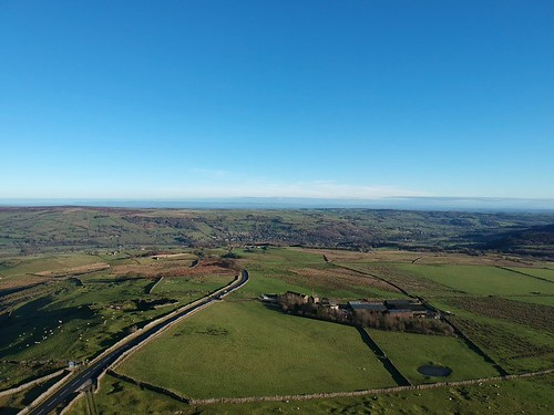 Panoramic shot from Greenhow Hill looking back toward Pateley Bridge | by mikethompson@live.co.uk