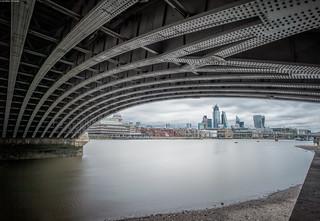 Underneath BlackFriars Bridge. | by Alan Habbick Photography.
