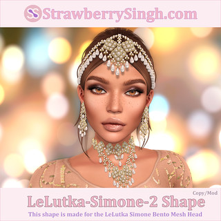 StrawberrySingh.com LeLutka-Simone-2 Shape | by Strawberry Singh