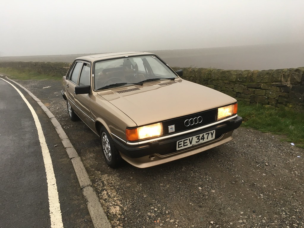Audi 80 B2 End Of October Run For The Audi Turned A Bit Fo Flickr