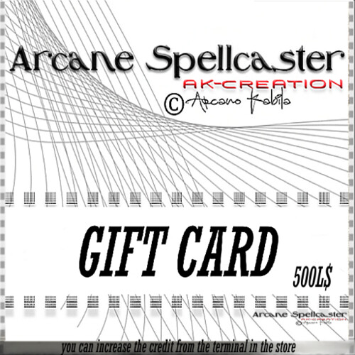 Gift card 500L$