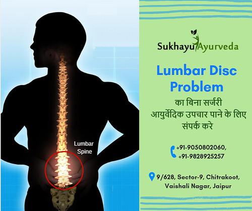 Get Ayurvedic Treatment of Lumbar Disc Disease Problem from Sukhayu Ayurveda
