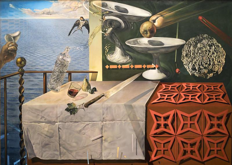 """Nature Morte Vivante (Still Life-Fast Moving)"" - Salvador Dalí"