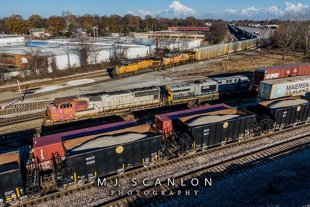 PRLX 201 | EMD SD75M | NS Memphis District West End