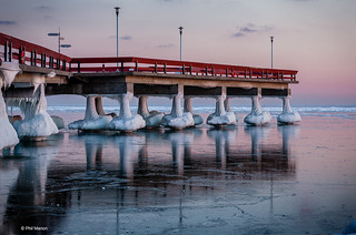 Centre Island pier and the polar vortex | by Phil Marion (184 million views - THANKS)