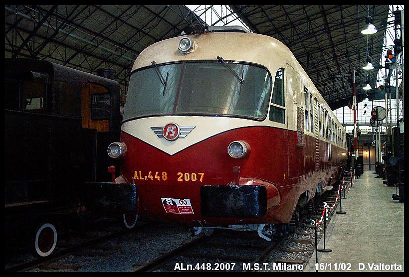 Museo Scienza E Tecnica.Oldies Aln 448 2007 Al Museo Scienza E Tecnica Milano Flickr