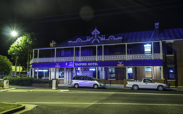 Empire Hotel, Inverell NSW, built 1900 - see below