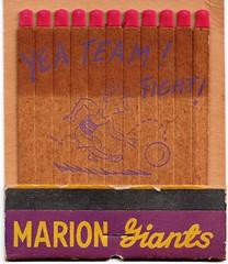 Marion Matchbook-Miller's Supper Club