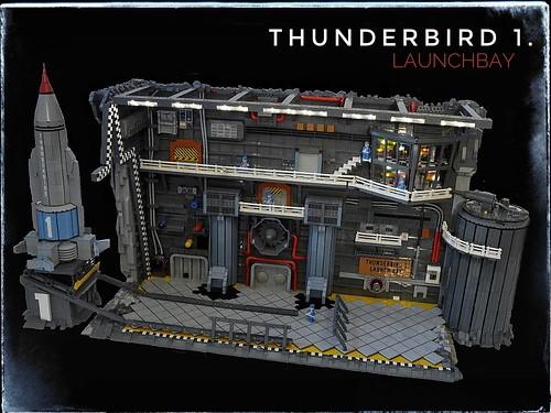 Thunderbird 1. Launchbay