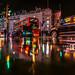Raindrops - Piccadilly Circus, London, UK