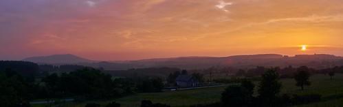 shropshire sunsetsunrise smog2018