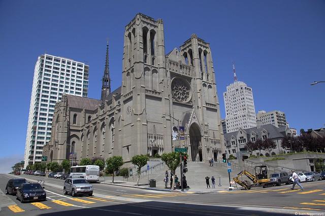 Grace Cathredal in San Francisco am 5.07.18