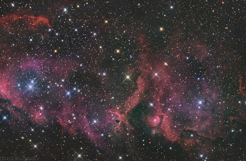 The Soul Nebula in colour | by www.swiftsastro.com
