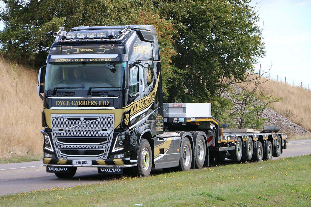 Dyce Carriers Ltd Volvo Fh16 750 Globetrotter F 16 Dcl Flickr