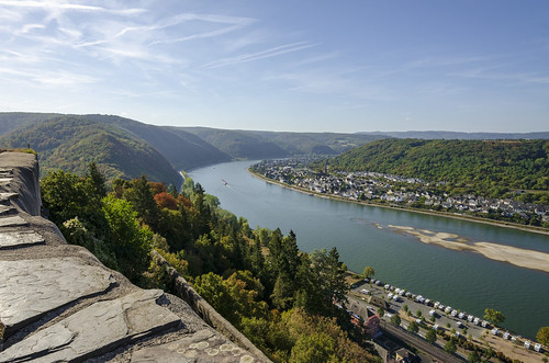 marksburg castle germany europe sightseeing view landscape rhine river water outdoor unesco