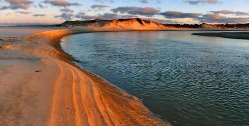 sunset waterscape scenery river landscape lumix ruakaka cco