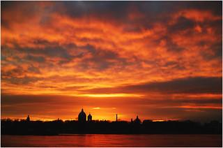 Закат фотошопно   by Kolobob