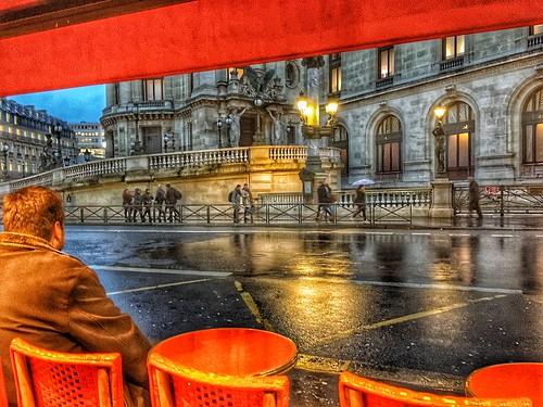 Paris  France - Opera House View - Opéra de Paris - Historic Architecture   by Onasill ~ Bill Badzo
