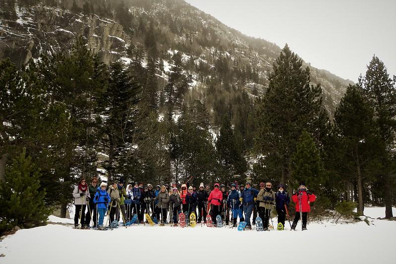 Raquetes de Neu a la Vall de Boí
