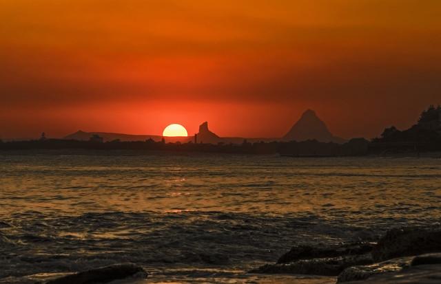 Caloundra Sunset.