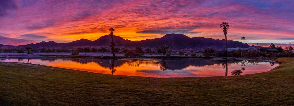 Beautiful Panoramic Sunrise
