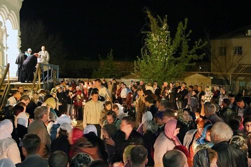 Пасхальное Богослужение в Свято-Никольском храме станицы Кавказской IMG_1505