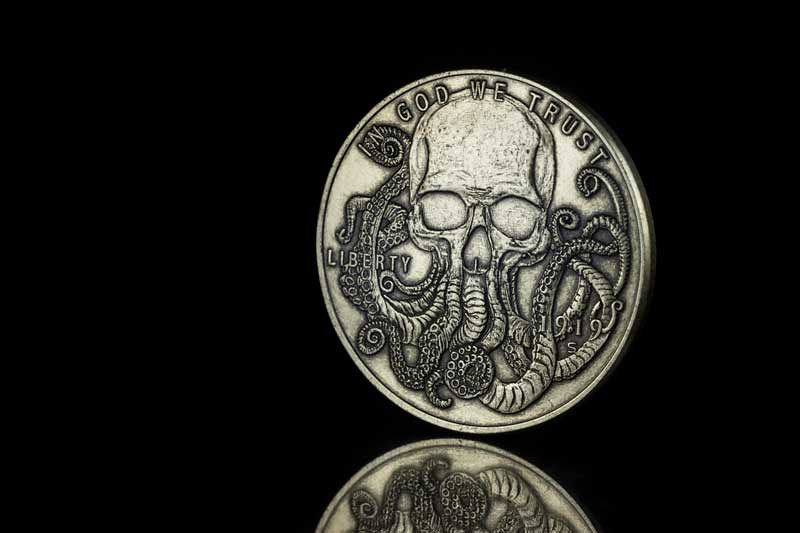 Dead on Paper Hobo Coin
