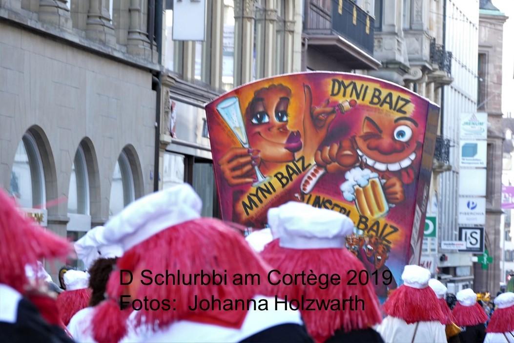 2019 Schlurbbi am Cortège