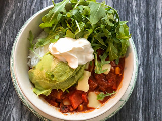 Make Me Vegan: Black Bean Burrito Bowl   by Suzie the Foodie www.suziethefoodie.com