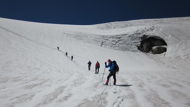 Berner Oberland, gletsjertocht