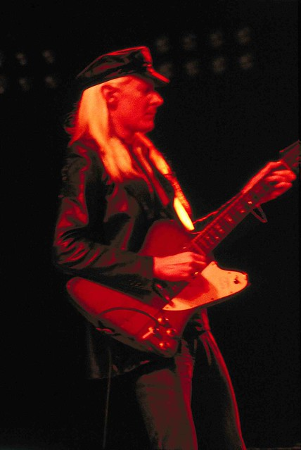 Photos of Johnny Winter Loreley 1980