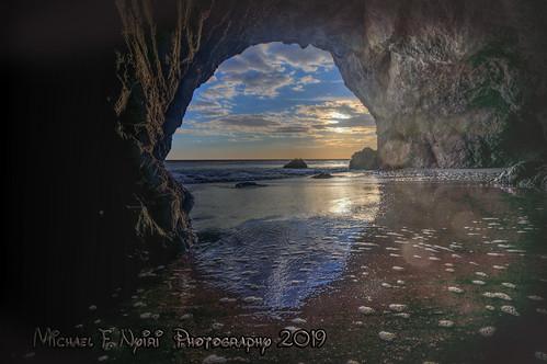 malibuca cave elmatadorstatebeach sand sunset sky greatphotographers greaterphotographers